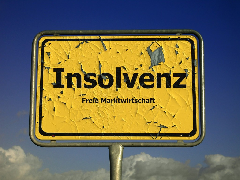 Die große Angst: Insolvenz